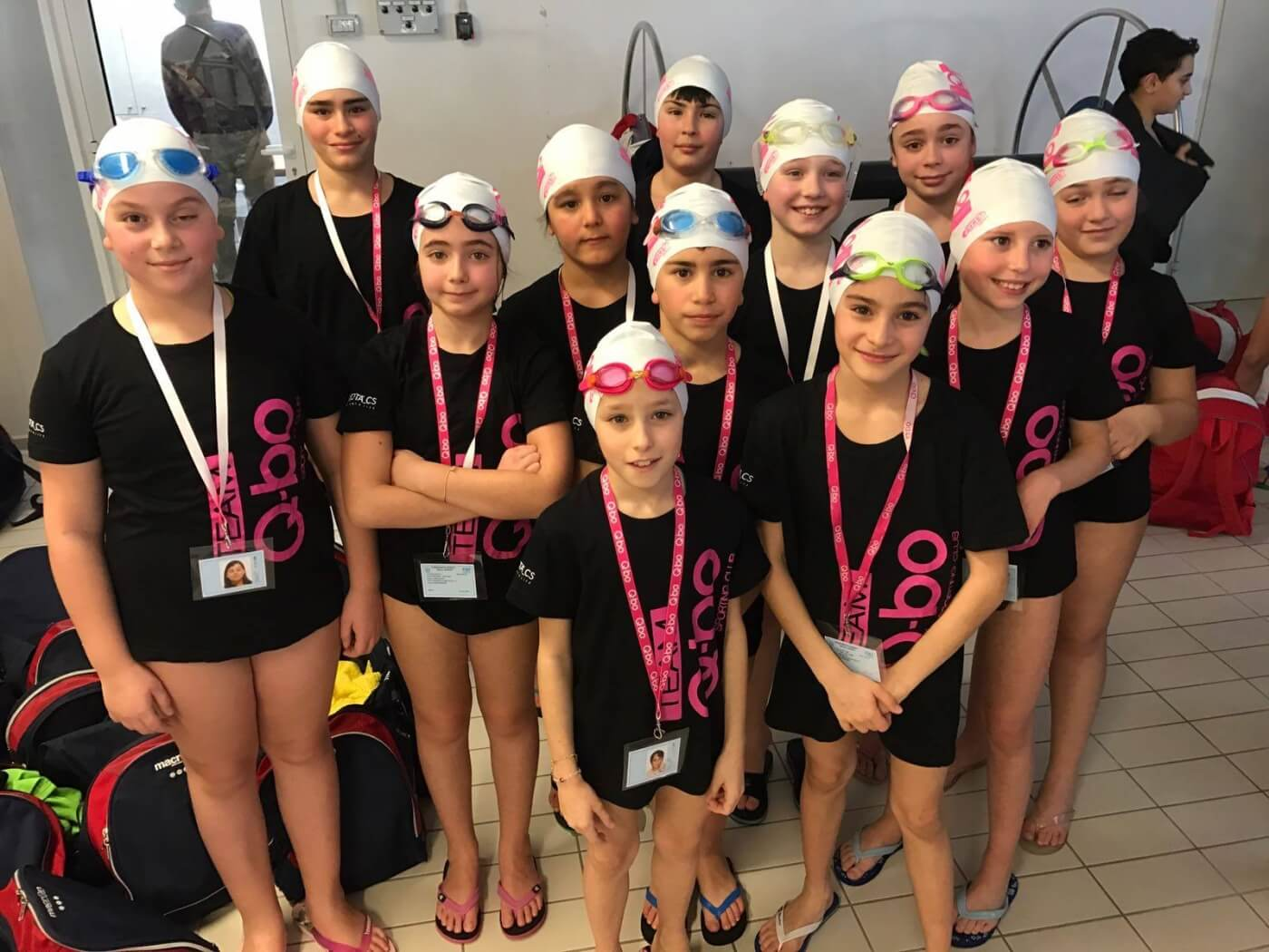 q-bowellness piscina academy esordienti