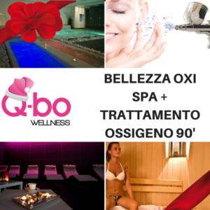 offerta natale q-bo wellness: spa e trattamento ossigenoterapia