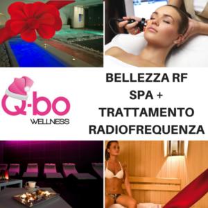 offerta natale q-bo wellness: spa e trattamento radiofrequenza