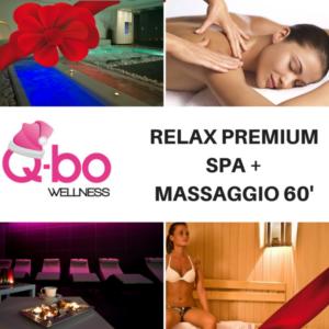 offerta natale q-bo wellness relax premium: spa e massaggio da 60 minuti
