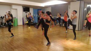 Una lezione di Samba Fit con Isabel Camargo