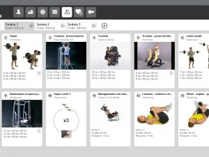 una schermata dell'applicazione mywellness di technogym utilizzata al q-bo wellness