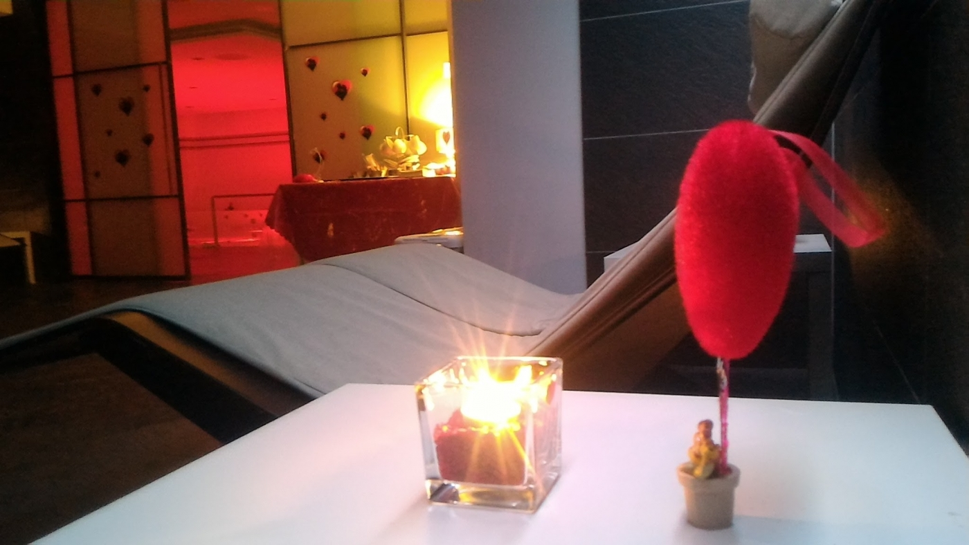 L'Oasi Benessere del Q-bo Wellness appositamente preparata per San Valentino