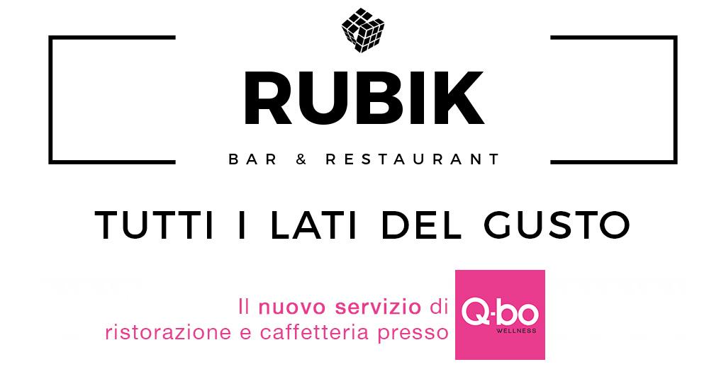 rubik servizio bar e ristorazione presso q-bo wellness