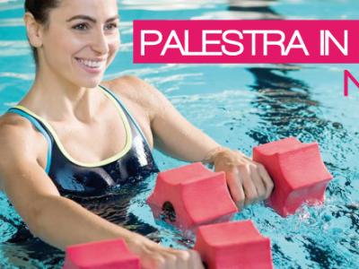 novità 2018 al q-bo wellness: palestra in acqua