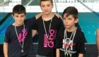 Alessio e Luca sul podio dei Campionati Regionali Salvamento categoria Esordienti B 50 metri ostacolo