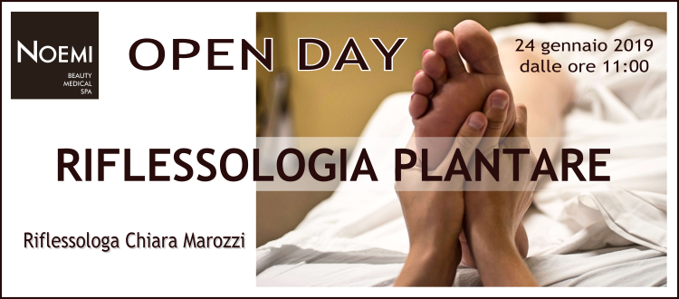 Open Day Riflessologia presso la Beauty & Medical Spa di Q-bo Wellness