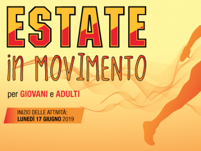 Estate in movimento - progetto Montegiorgio estate 2019
