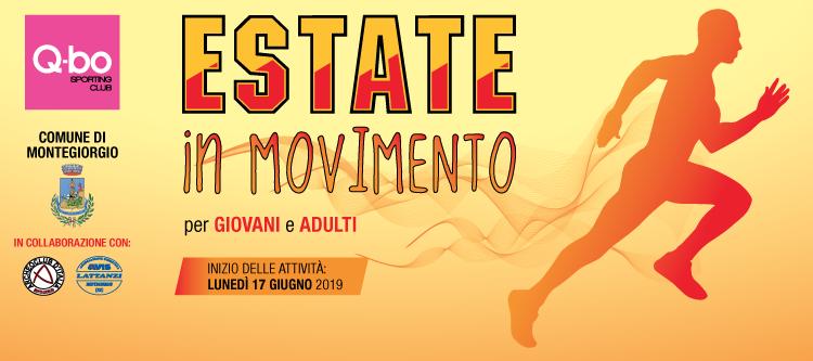 Estate in movimento - progetto Montegiorgio estate 2019