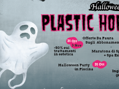 halloween 2019 al q-bo wellness è plastic horrors
