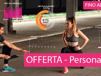 offerta personal training e sgt Q-bo Wellness palestra