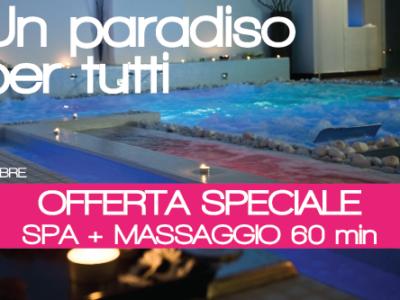 offerta oasi + massaggio un paradiso per tutti q-bo wellness