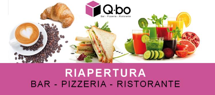 q-bo wellness riapertura bar ristorante
