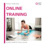 tendenze fitness 2021 - online training