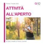 tendenze fitness 2021 - attività all'aeprto