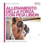 tendenze fitness 2021 - allenamento della forza con pesi liberi