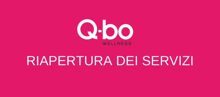 Riapertura della palestra maggio 2021 presso Q-bo Wellness